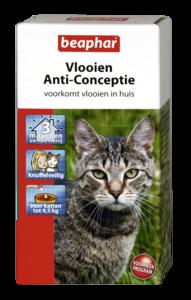Vlooien Anti-Conceptie kat (tot 4,5kg) 3 ampullen