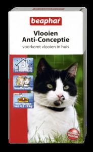 Vlooien Anti-Conceptie kat (4.5 - 9kg) 3 ampullen