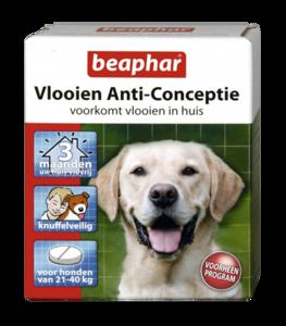 Vlooien Anti-Conceptie hond (vanaf 21kg) 3 tabletten