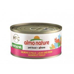 Almo Nature Classic Zalm met Kip 70gram