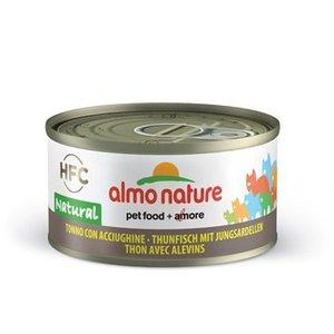 Almo Nature Tonijn met Jonge Sardientjes 70gram