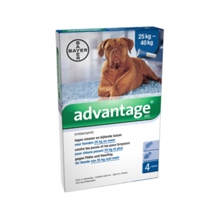 Advantage Hond 400 4 Pipetten