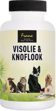 Frama Visolie & Knoflook 200 Capsules
