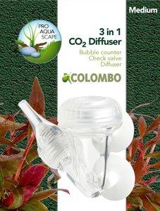 Colombo 3 in 1 CO² Diffuser Medium