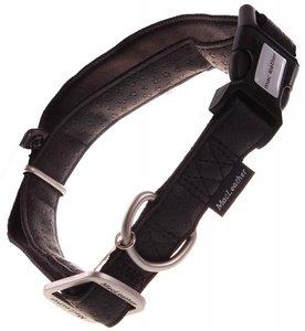 Halsband Macleather Zwart