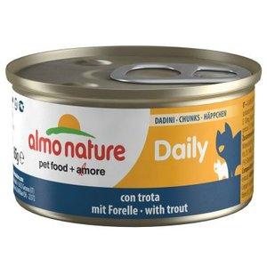 Almo Nature Daily Brokjes met Forel 85gram