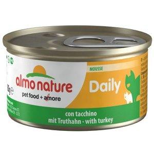 Almo Nature Daily Mousse Kalkoen 85gram