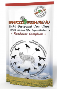 Farm Food Fresh Menu Rundvlees Compleet 125gr