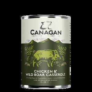 Canagan Blik Kip & Wildzwijn 400gr